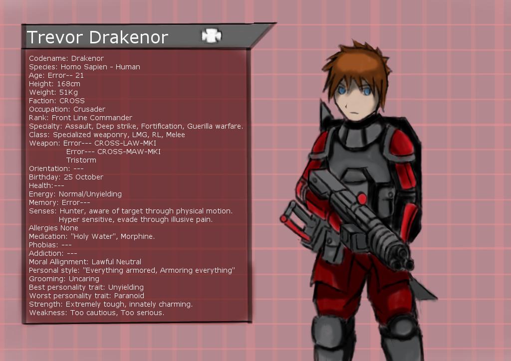 Trevor Drakenor profile by TrevorDrakenor