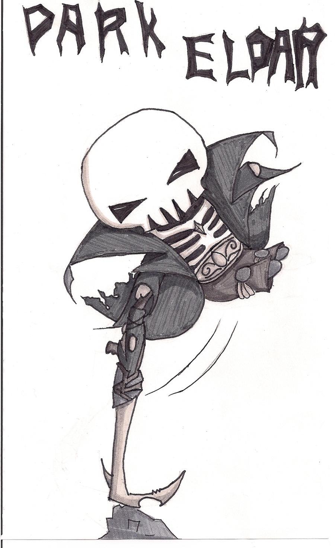 40K Death Jester....Chibi-ed by N-Chiodo