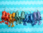 Rainbow of Squid Colors!
