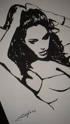 Angelina Jolie by delsando