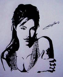 Angelina Jolie 2 by delsando