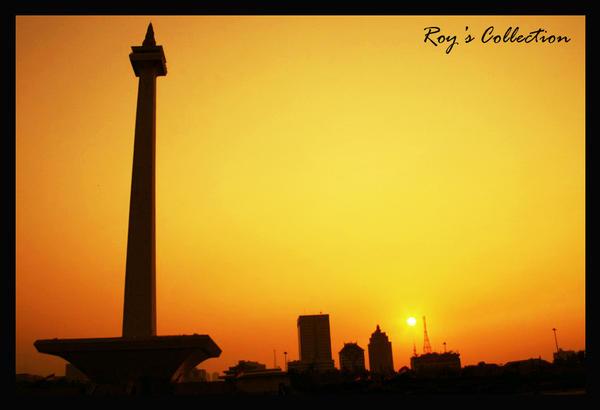 Jakarta City by RoyWicaksono