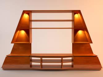 Sfinx Model wood mat by Tahyon