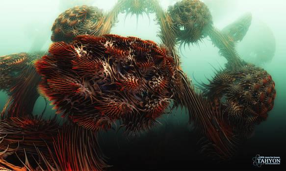 Alien Waters by Tahyon