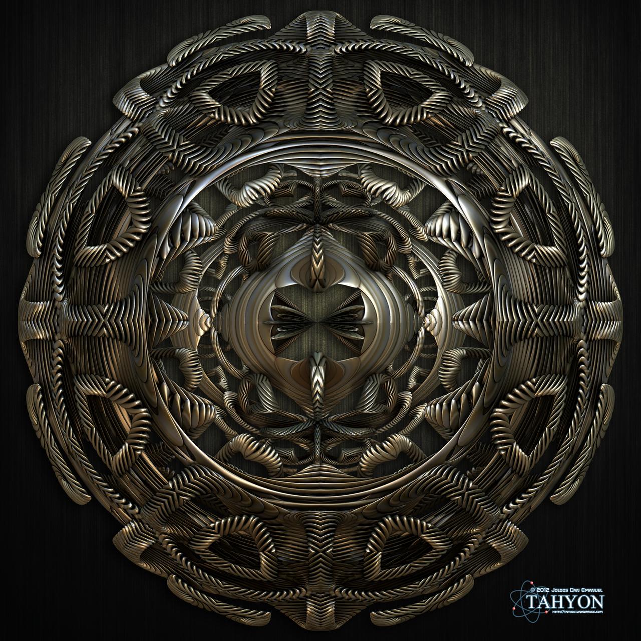 Mayan Pendant by Tahyon