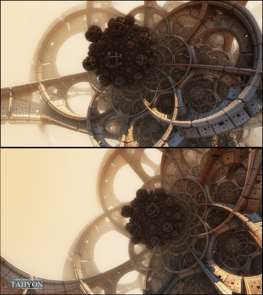 EXOSPHERE close up by Tahyon