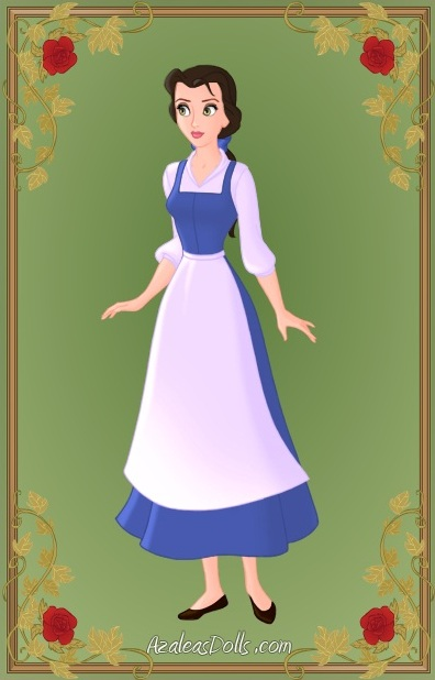 Disney character blue dress