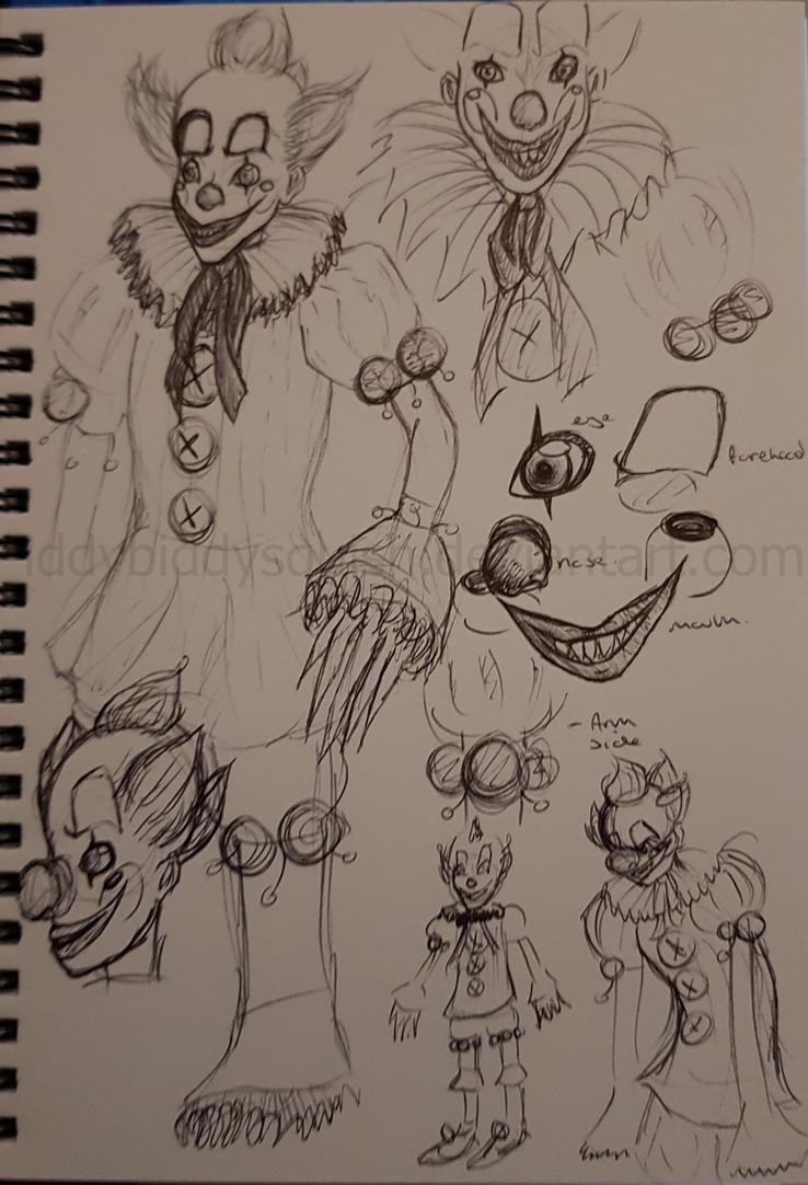My Pennywise Design by IddyBiddySquish