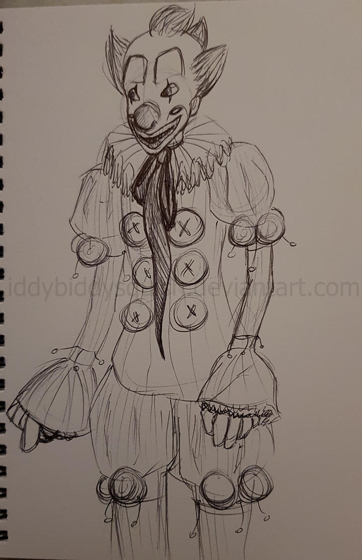 My Pennywise Design - Final Draft by IddyBiddySquish
