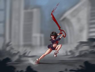 Ryuko Matoi upgrade redo.