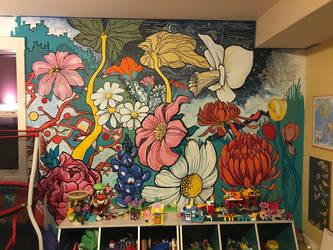 Flowery playroom