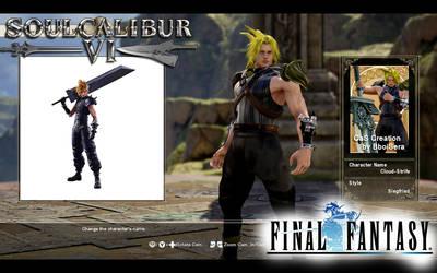 CaS-SoulCalibur6-Cloud-FinalFantasy-BboiSera by BboiSera