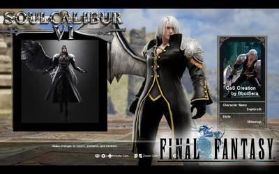 CaS-SoulCalibur6-Sephiroth-FinalFantasy-BboiSera by BboiSera