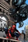Spider-man Venom color Marvel