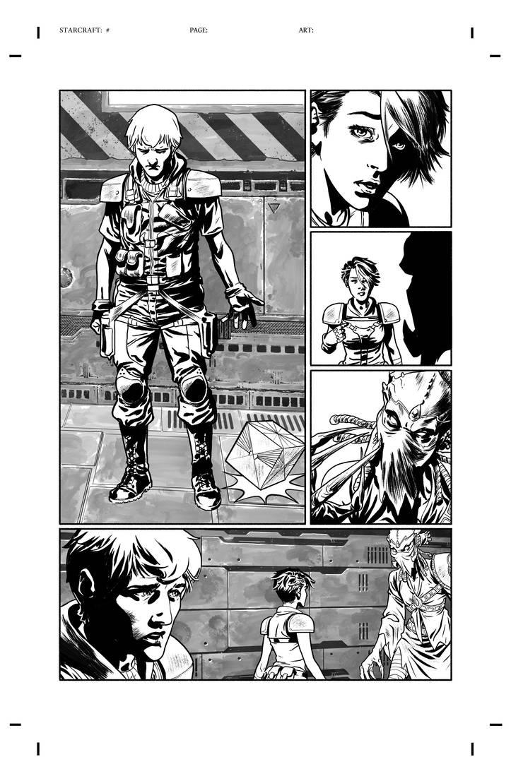 Starcraft  04 page 19 by gabrielguzman