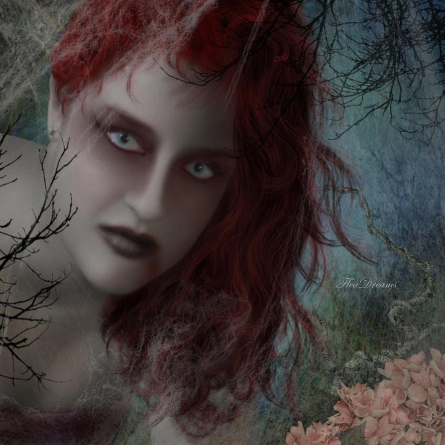 Lady Vampire.. by lorenzArts