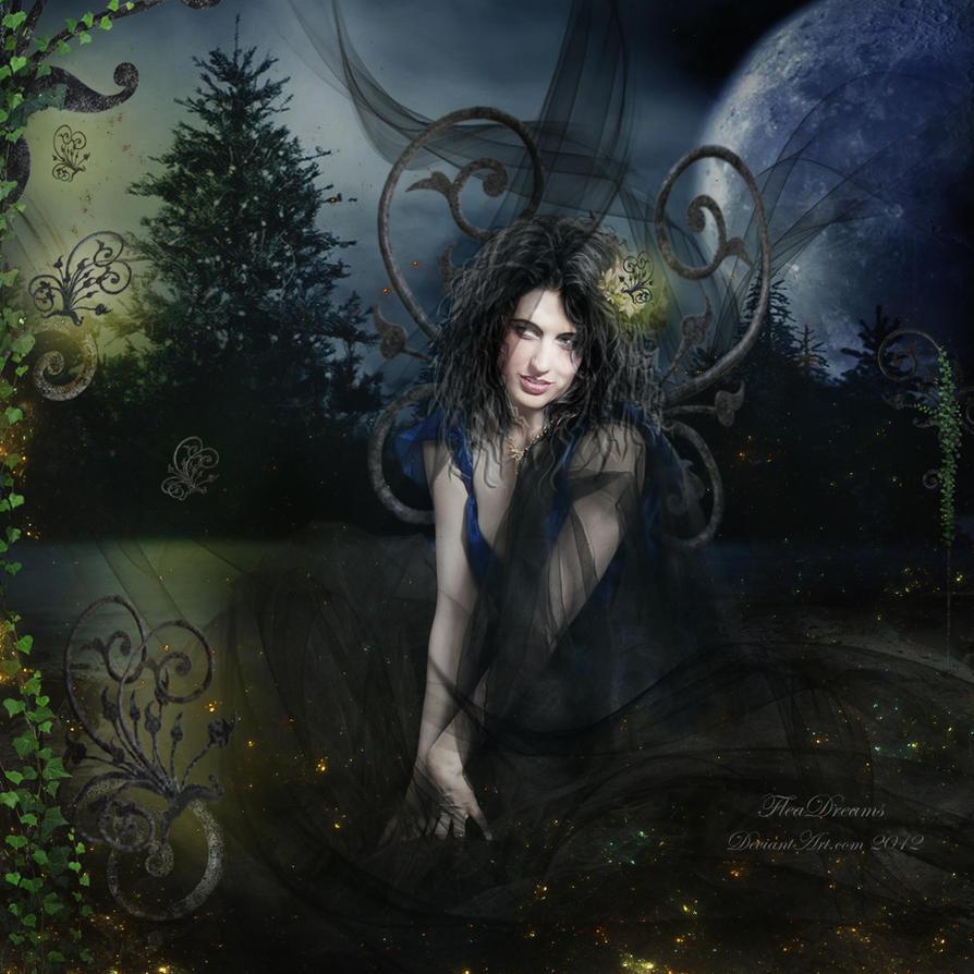 Dark Butterfly.. by lorenzArts