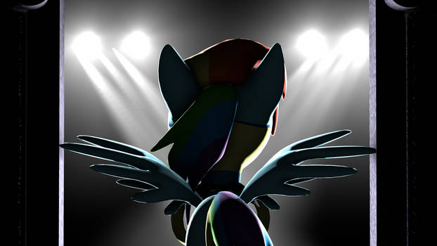 Rainbow Dash stage [PonySFM]