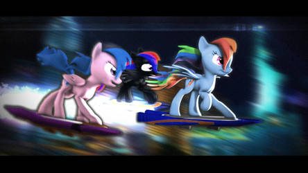 Dash  Rider [ SFM PONY ] by Lux-The-Pegasus