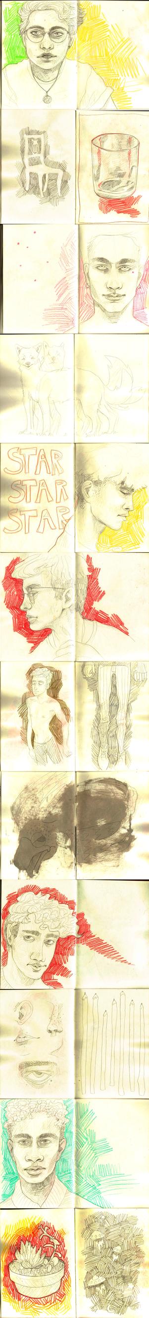 Sketch Dump 5 by wick-y