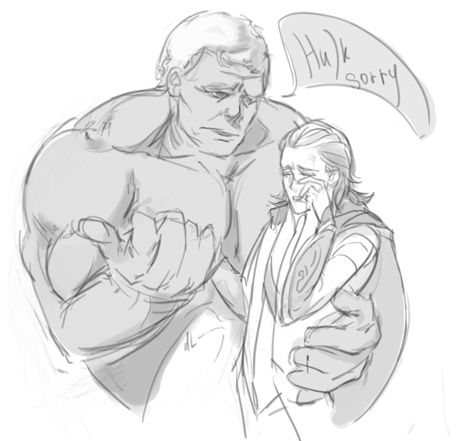 Hulk sorry by kuakugava