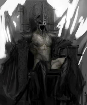 Comission sketch Witch King