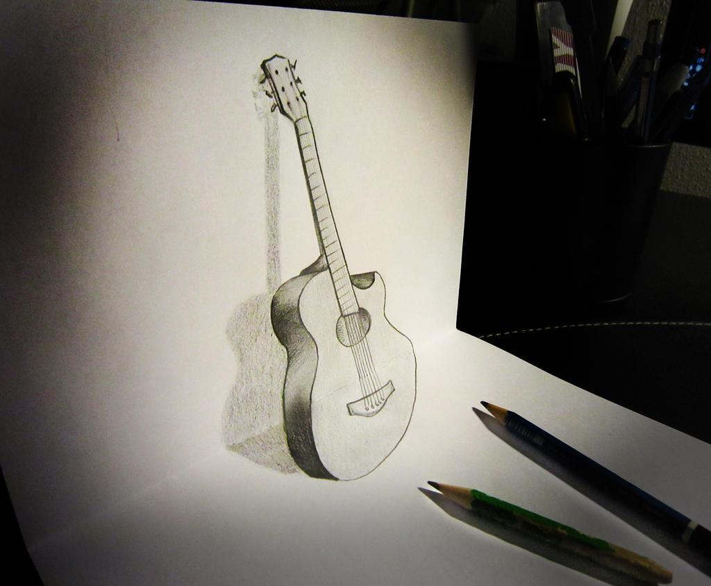 Guitar anamorphosis