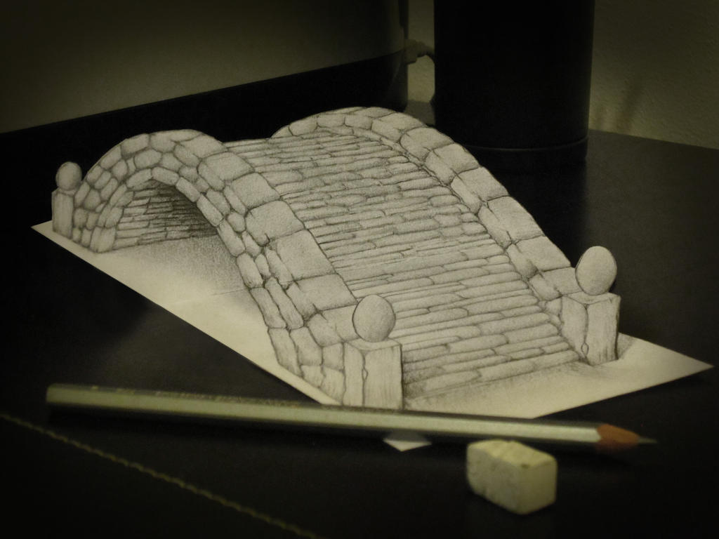 More Than 20 Astonishing 3d Pencil Drawings Easyprint Blog