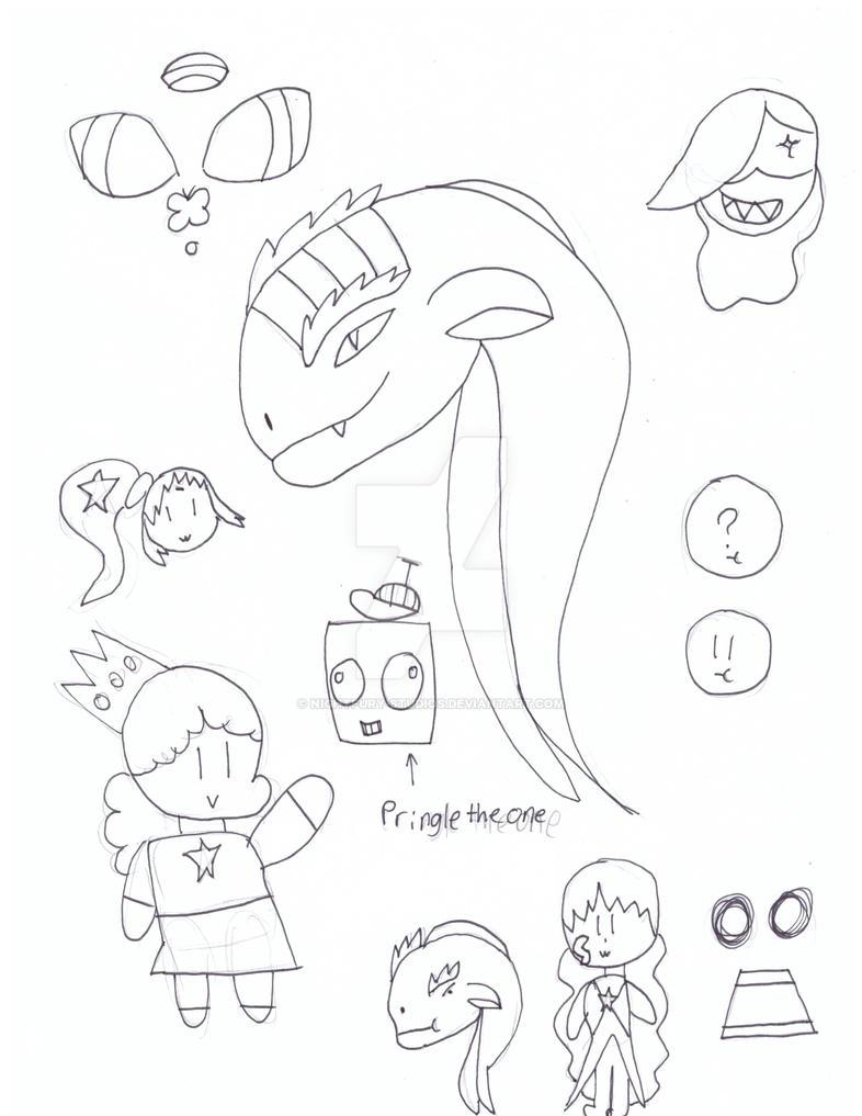 Random doodles #1 by NightFury-Studios