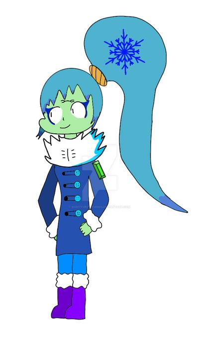 Jade Winter Outfit by NightFury-Studios