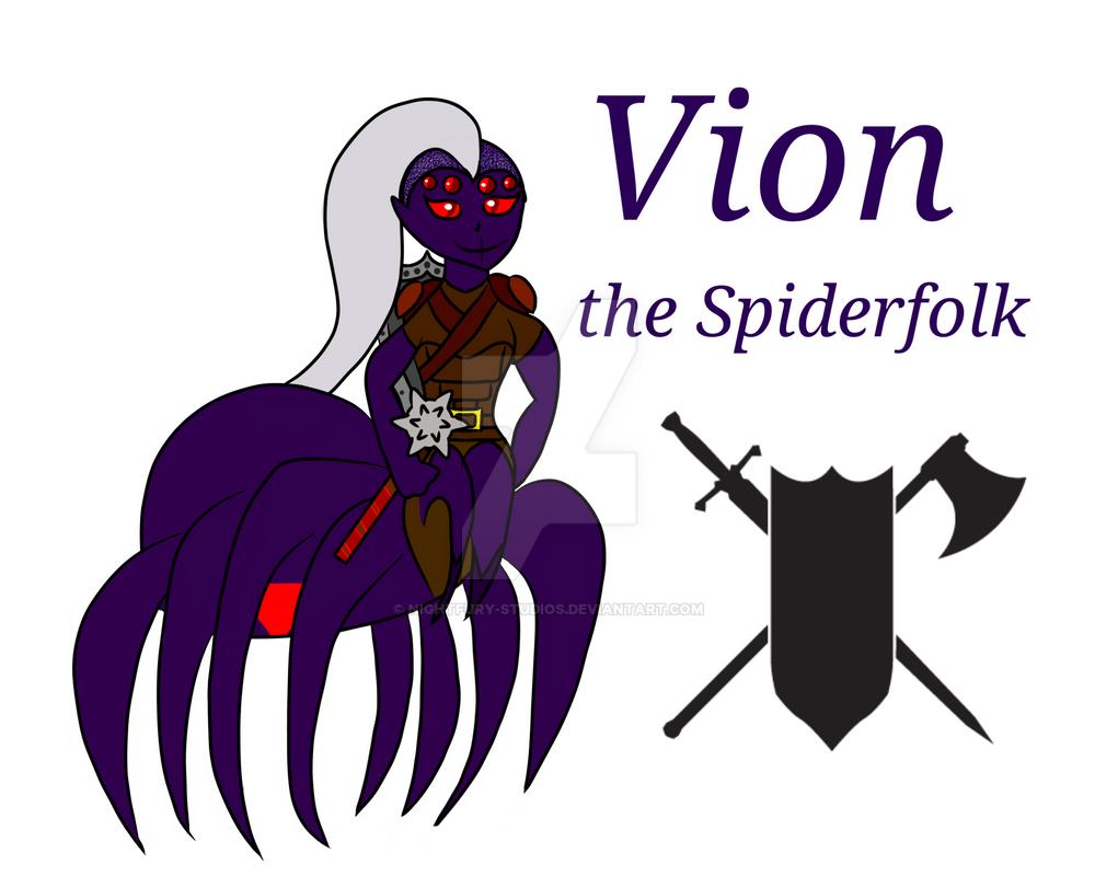 Vion: DnD Character by NightFury-Studios