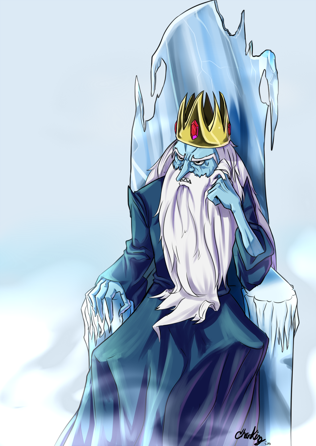 Adventure Time: Ice King by Chrono-King