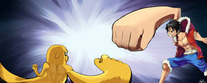 Luffy Vs Jake