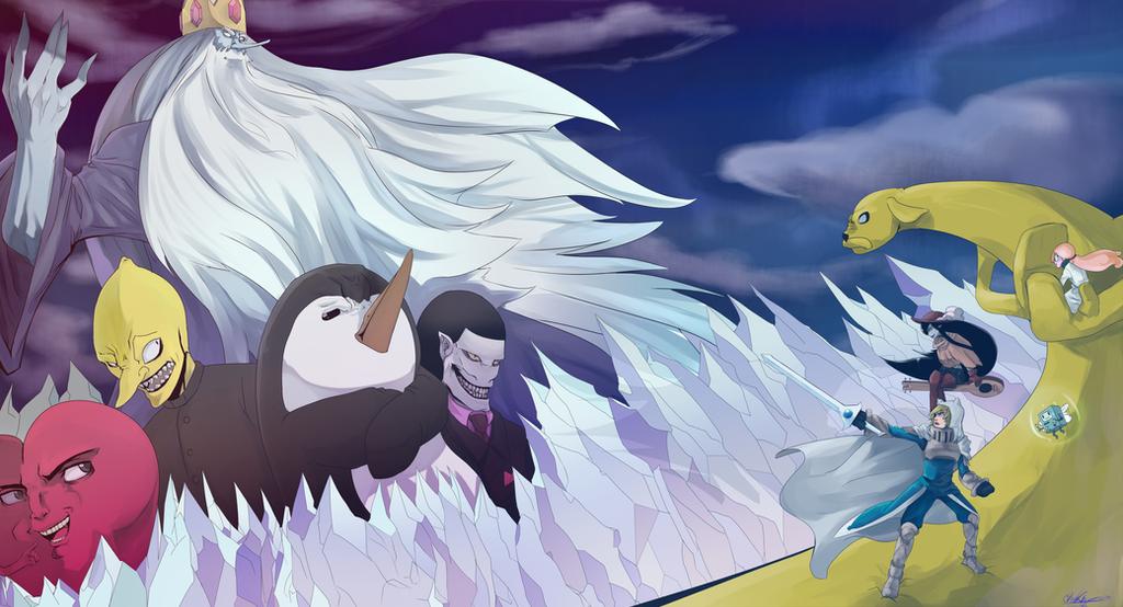 Adventure Time Manga: Fantasy Adventure Time By Chrono-King On DeviantArt