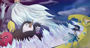 Fantasy Adventure Time by Chrono-King