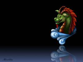 Dragon by Mirella-Gabriele