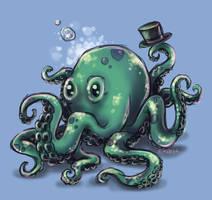 Sir Octopus by Mirella-Gabriele