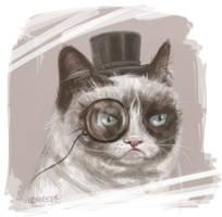 Sir Grumpy Cat