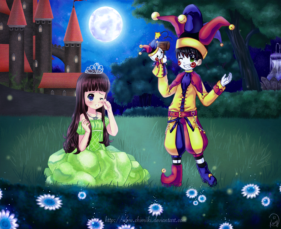 Smile, little princess by Joyfool