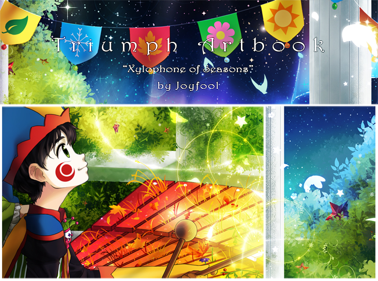 Preview: Triumph Charity Artbook by Joyfool