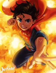 Superboy by Joyfool