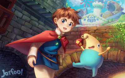 Ni no Kuni: Wrath of the White Witch (2011) | The Well-Red Mage | 250x400