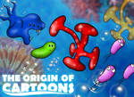 The Origin of Cartoons by VonBrrr