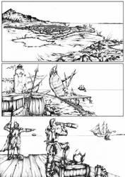 Comic-test page by VonBrrr