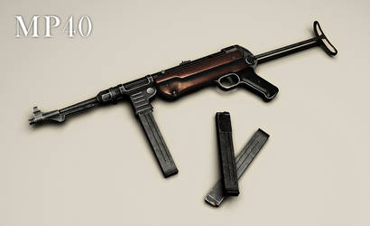 MP40 by VonBrrr