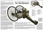 WW1 Tsar Tank - Cutaway