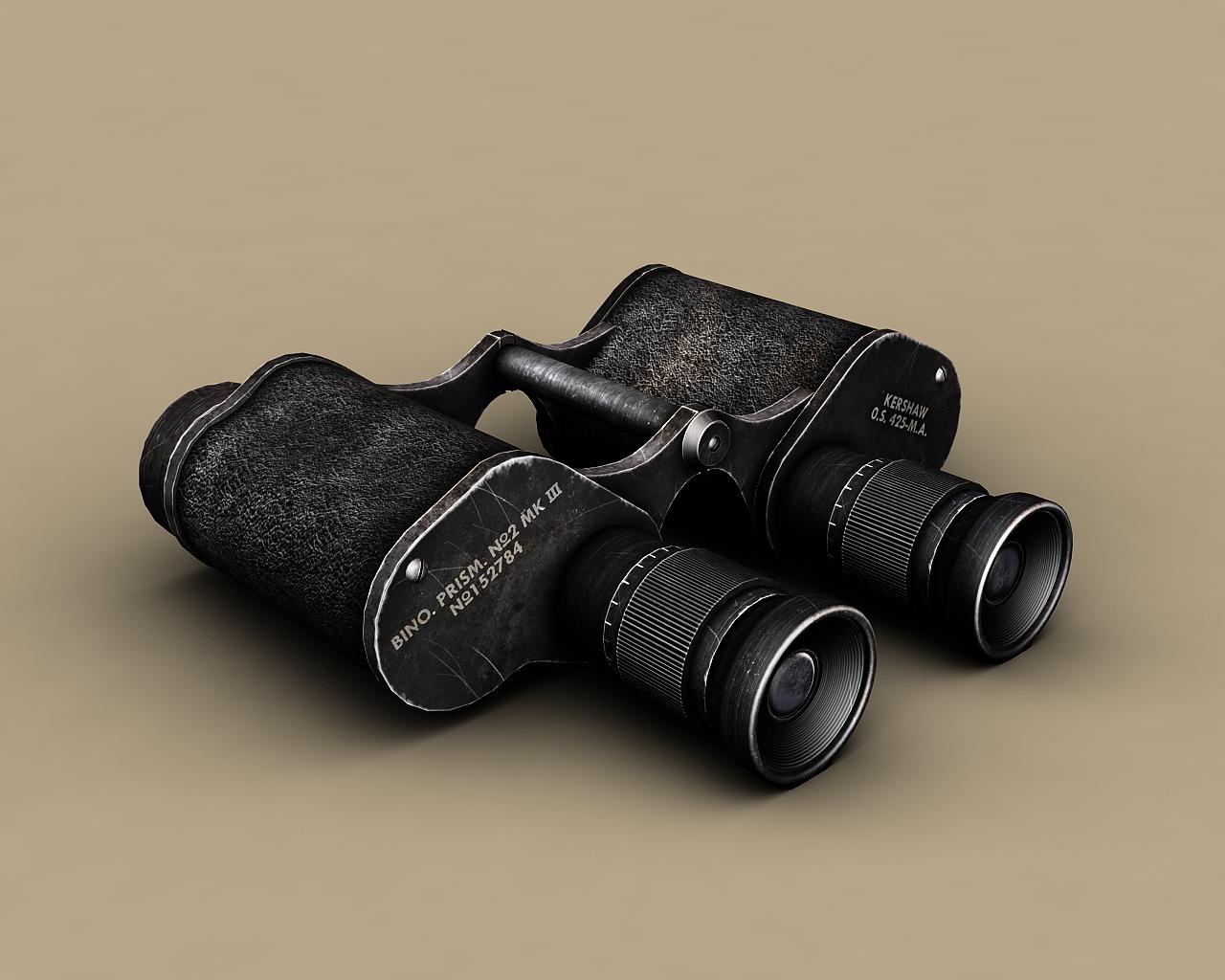 British WW2 Binoculars