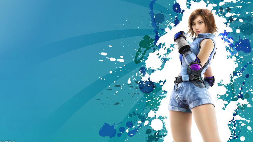 Tekken 6 wallpaper Asuka by nin-er
