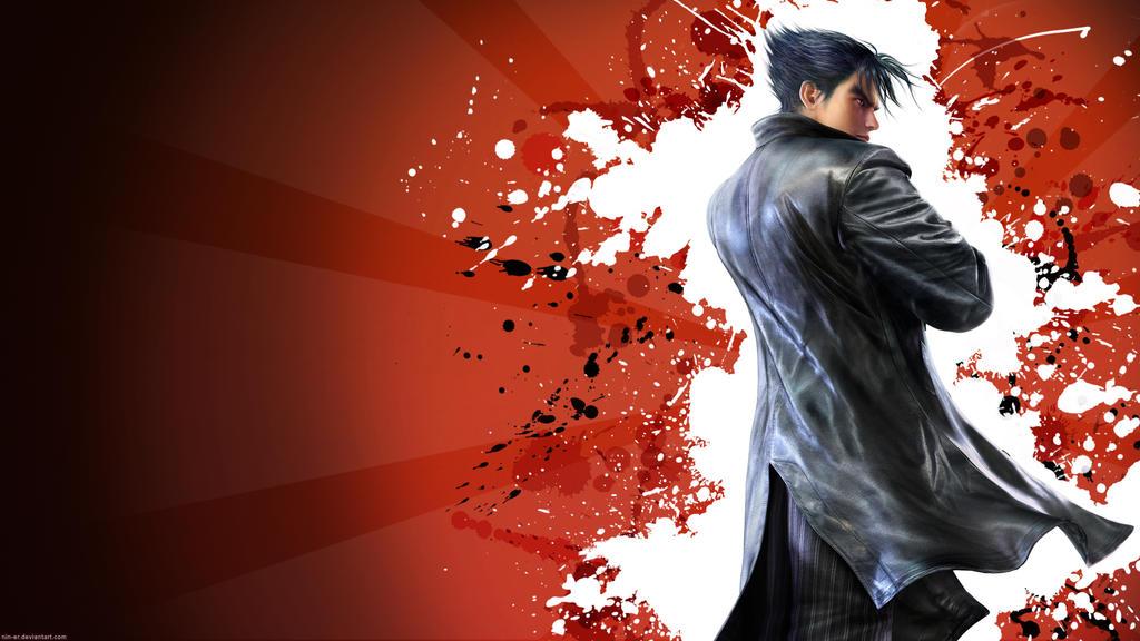 tekken 6 wallpapers. Tekken 6 wallpaper Jin -red by