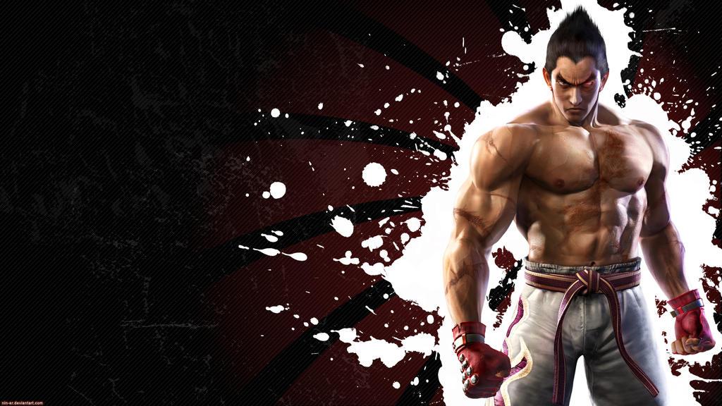 Tekken 6 Wall Kazuya Black By Nin Er